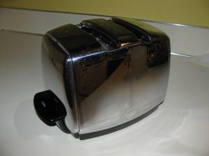 After a thorough cleaning and careful tuning my wife and I have been using the wonderful '50's era toaster for the past two-years.